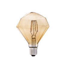 BULB DIAMOND LED AMBER E27 4W 2200K